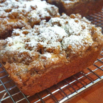 City Slickers New York Crumb Cake