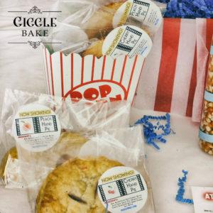 """GiggleBake """"Movie Night"""" Cherry and Peach Hand Pies"""